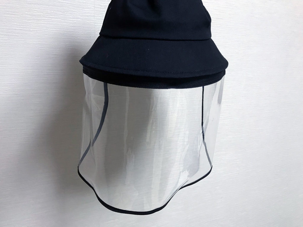 帽子フェイスガード